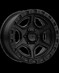"""XD 139 """"PORTAL"""" Wheel 17x9 in Satin Black for 07-up Jeep Wrangler JK, JL & JT Gladiator - XD13979050712N"""