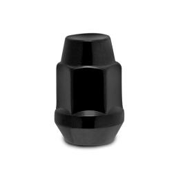 "Lug Nut 1/2"" x 20 with 3/4"" Hex Head (1.4"" L) in Black for 07-18 Jeep Wrangler JK & JK Unlimited"