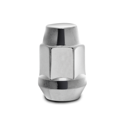 "Lug Nut 1/2"" x 20 with 3/4"" Hex Head (1.4"" L) in Chrome for 07-18 Jeep Wrangler JK & JK Unlimited"