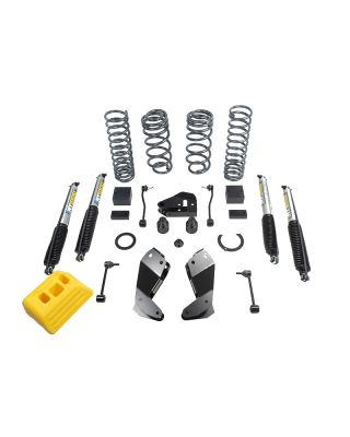 "AEV 2.5"" DualSport RT Suspension Lift Kit with Bilstein Shocks for 18-up Jeep Wrangler JL (2-Door Only) - N0722100AA"