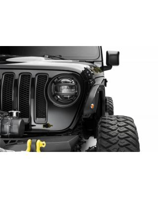 BUSHWACKER Trail Armor Front & Rear Fender Delete Kit for 18-up Jeep Wrangler JL & JL Unlimited - 14096