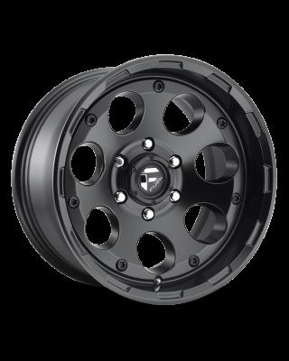 """FUEL D608 """"ENDURO"""" Wheel [Size] in Satin Black for 07-up Jeep Wrangler JK, JL & JT Gladiator - D608"""