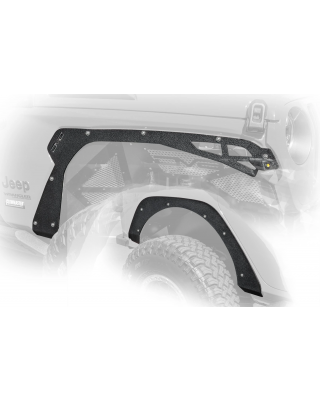 DV8 Front & Rear Fender Delete Kit for 18-up Jeep Wrangler JL & JL Unlimited - FDJL-03