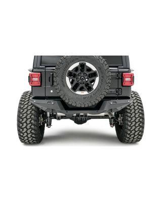 FAB FOURS Mid Width Rear Bumper for 18-up Jeep Wrangler JL & JL Unlimited - JL18-Y1851-1
