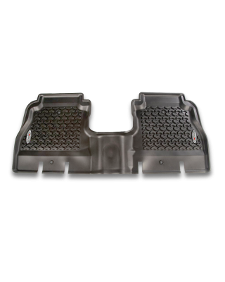 FORTEC Custom Molded Rear Floor Liner by RUGGED RIDGE for 18-up Jeep Wrangler JL Unlimited 4-Door - 12950.48