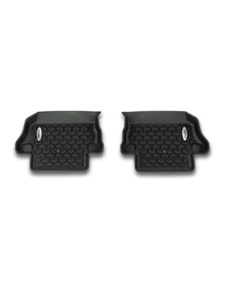 FORTEC Custom Molded Rear Floor Liner by RUGGED RIDGE for 18-19 Jeep Wrangler JL 2-Door - 12950.49