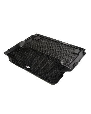 FORTEC Custom Molded Full Cargo Floor Liner by RUGGED RIDGE for 18-19 Jeep Wrangler JL 2-Door - 12975.51