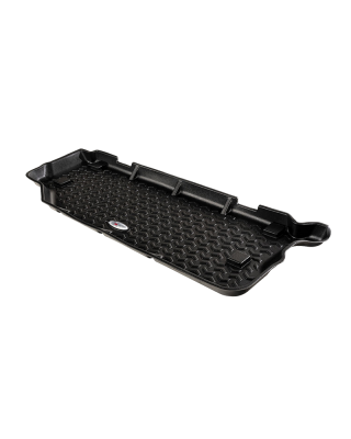 FORTEC Custom Molded Half Cargo Floor Liner by RUGGED RIDGE for 18-19 Jeep Wrangler JL 2-Door - 12975.52