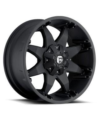 """FUEL D509 """"OCTANE"""" Wheel 17x8.5 in Satin Black for 07-up Jeep Wrangler JK, JL & JT Gladiator - D5097852645"""