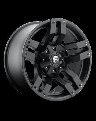 """FUEL D515 """"PUMP"""" Wheel 18x9 in Satin Black for 07-up Jeep Wrangler JK, JL & JT Gladiator - D51518902650"""