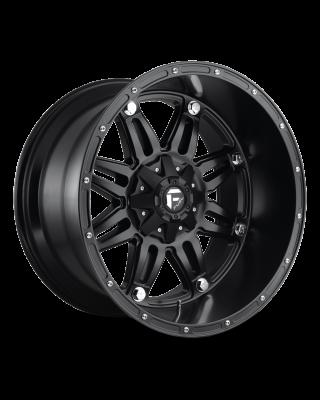 """FUEL D531 """"HOSTAGE"""" Wheel 17x9 in Satin Black for 07-up Jeep Wrangler JK, JL & JT Gladiator - D53117905750"""