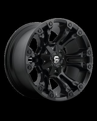 """FUEL D560 """"VAPOR"""" Wheel 18x9 in Satin Black for 07-up Jeep Wrangler JK, JL & JT Gladiator - D56018902650"""