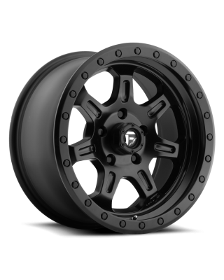 """FUEL D572 """"JM2"""" Wheel 17x8.5 in Satin Black for 07-up Jeep Wrangler JK, JL & JT Gladiator - D57217857345"""