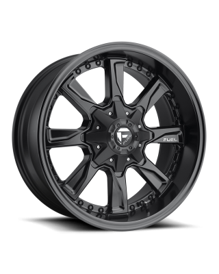 "FUEL D604 ""HYDRO"" Wheel 18x9 in Satin Black for 07-up Jeep Wrangler JK, JL & JT Gladiator - D60418902650"