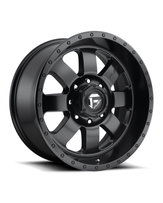 "FUEL D626 ""BAJA"" Wheel 20x9 in Satin Black for 07-up Jeep Wrangler JK, JL & JT Gladiator - D62620907350"