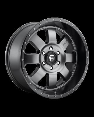 "FUEL D628 ""BAJA"" Wheel 20x9 in Satin Anthracite with Black Ring for 07-up Jeep Wrangler JK, JL & JT Gladiator - D62820907350"