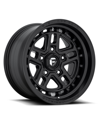"FUEL D667 ""NITRO"" Wheel 17x9 in Satin Black for 07-up Jeep Wrangler JK, JL & JT Gladiator - D66717907545"
