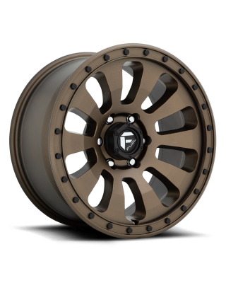 "FUEL D678 ""TACTIC"" Wheel 17x9 in Satin Bronze for 07-up Jeep Wrangler JK, JL & JT Gladiator - D67817907545"