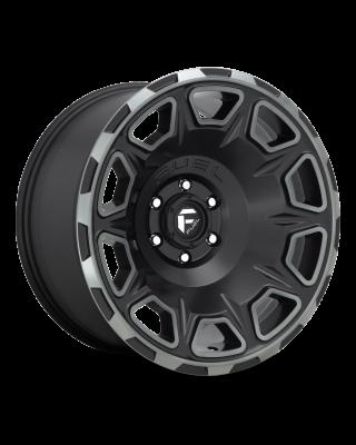 "FUEL D686 ""VENGEANCE"" Wheel 20x10 in Satin Black with Dark Tint for 07-up Jeep Wrangler JK, JL & JT Gladiator - D68620007547"