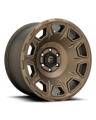 "FUEL D687 ""VENGEANCE"" Wheel 17x9 in Satin Bronze for 07-up Jeep Wrangler JK, JL & JT Gladiator - D68717907545"