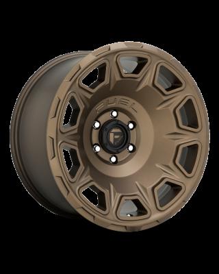 "FUEL D687 ""VENGEANCE"" Wheel 20x10 in Satin Bronze for 07-up Jeep Wrangler JK, JL & JT Gladiator - D68720007547"