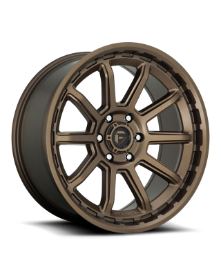 "FUEL D690 ""TORQUE"" Wheel 17x9 in Satin Bronze for 07-up Jeep Wrangler JK, JL & JT Gladiator - D69017907550"