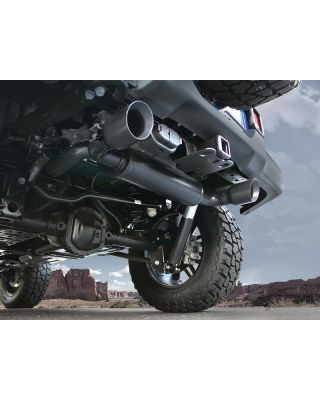 MAGNAFLOW Black Dual Exhaust System for 18-up Jeep Wrangler JL & JL Unlimited - 19388