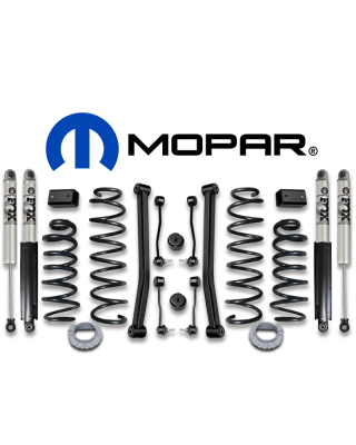 "MOPAR 2"" Suspension Lift Kit for 18-up Jeep Wrangler JL Unlimited (4-Door Only) with 3.6L Engine - 77072395"