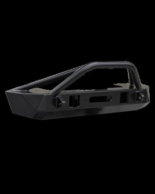 """POISON SPYDER """"BRUISER"""" Front Bumper for 18-up Jeep Wrangler JL, JL Unlimited & JT Gladiator - 19-57-010DBTP1"""