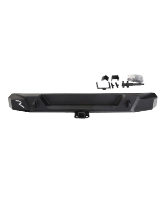 "RAMPAGE ""TRAILGUARD"" Rear Bumper for 18-up Jeep Wrangler JL &  JL Unlimited - 99513"