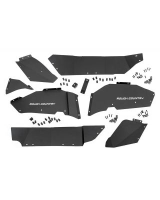 Rough Country Rear Inner Fender Liner Kit for 18-up Jeep Wrangler JL & JL Unlimited - 10498A