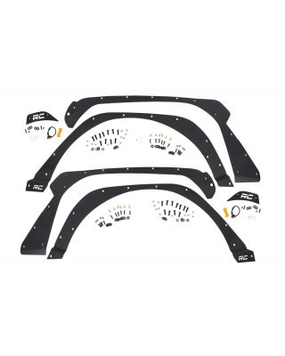 Rough Country Front & Rear Fender Delete Kit for 18-up Jeep Wrangler JL & JL Unlimited - 10539