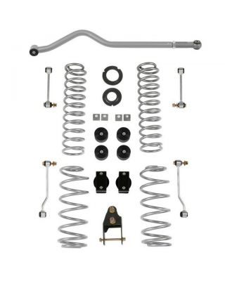 "RUBICON EXPRESS 3.5"" Suspension Lift Kit w/o Shocks for 18-up Jeep Wrangler JL Unlimited (4-Door Only) - JL7142"