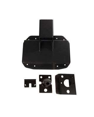 "RUGGED RIDGE ""SPARTACUS"" Heavy Duty Tire Carrier in Textured Black for 18-19 Jeep Wrangler JL & JL Unlimited - 11546.57"