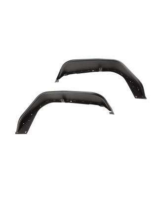 Rugged Ridge Front HD Steel Tube Fenders for 18-up Jeep Wrangler JL, JL Unlimited & JT Gladiator - 11615.71
