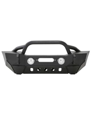 SMITTYBILT XRC Gen II Front Bumper for 18-up Jeep Wrangler JL,  JL Unlimited & JT Gladiator - 76807