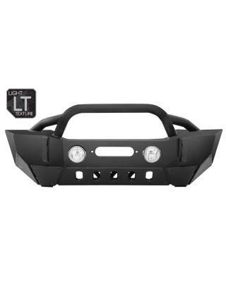 SMITTYBILT XRC Gen II Front Bumper for 18-up Jeep Wrangler JL, JL Unlimited & JT Gladiator - 76807LT