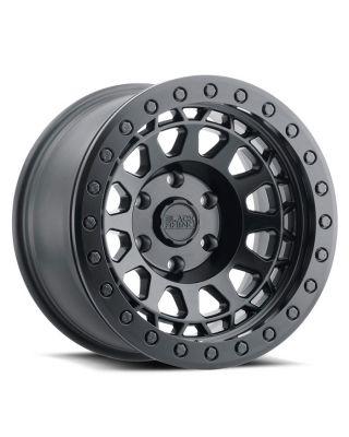 """BLACK RHINO """"PRIMM"""" BEADLOCK Wheel 17x8.5 in Satin Black for 07-up Jeep Wrangler JK, JL & JT Gladiator - 1785PRM-85127M71"""