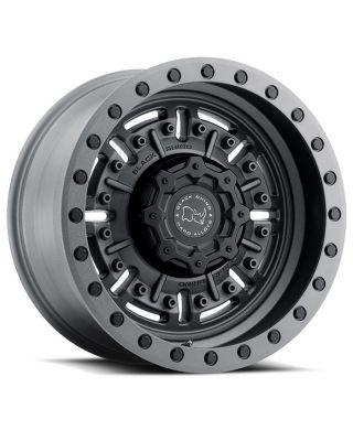 """BLACK RHINO """"ABRAMS"""" Wheel 20x9.5 in Gunmetal Black for 07-up Jeep Wrangler JK, JL & JT Gladiator - 2095ABR-85127G71"""