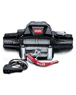 WARN ZEON 8 Self-Recovery Winch with Steel Cable - 88980