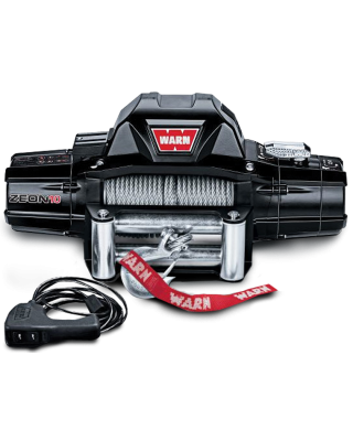 WARN ZEON 10 Self-Recovery Winch with Steel Cable - 88990