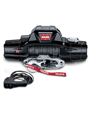 WARN ZEON 8-S Self-Recovery Winch with Synthetic Rope - 89305