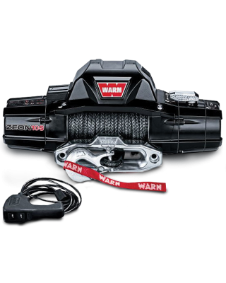 WARN ZEON 8-S Winch with Synthetic Rope for Jeep Wrangler JK, JL & Unlimited