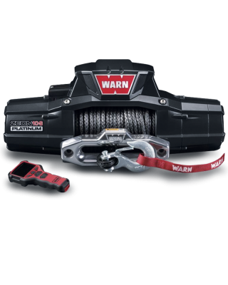 WARN Zeon 10-S Winch with Synthetic Rope for Jeep Wrangler JK, JL & Unlimited