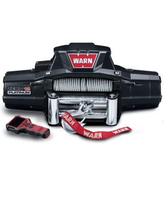 WARN ZEON Platinum 10 Self-Recovery Winch with Steel Cable - 92810