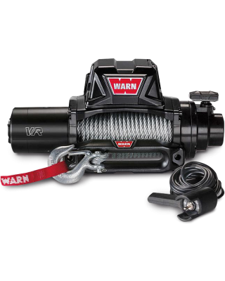 WARN VR10 Self-Recovery Gen II Winch with Steel Cable - 96810