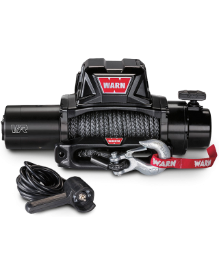 WARN VR12-S Self-Recovery Gen II Winch with Synthetic Rope - 97035