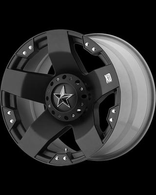 """XD775 """"ROCKSTAR"""" Wheel 18x9 in Satin Black for 07-up Jeep Wrangler JK, JL & JT Gladiator - XD77589043300"""