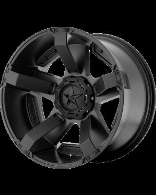 """XD811 """"ROCKSTAR II"""" Wheel 20x12 in Satin Black for 07-up Jeep Wrangler JK, JL & JT Gladiator - XD81121235744N"""