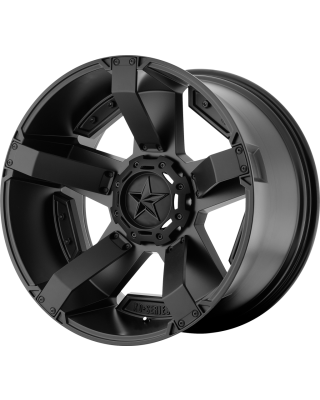 """XD811 """"ROCKSTAR II"""" Wheel 20x9 in Satin Black for 07-up Jeep Wrangler JK, JL & JT Gladiator - XD81129035700"""